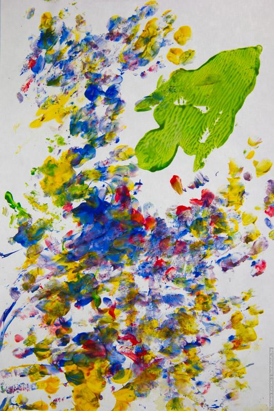 Как рисовать с ребенком до трех лет?