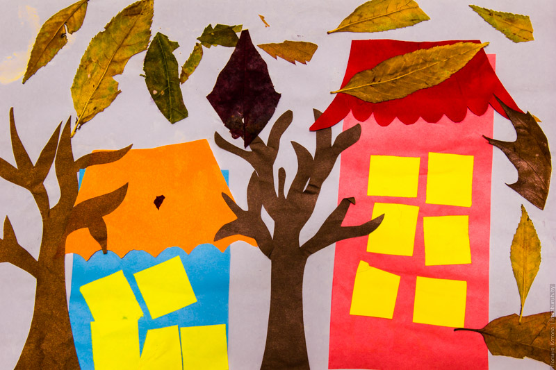 Осенние поделки для малышей